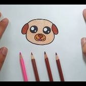 Como dibujar un perro paso a paso 41   How to draw a dog 41