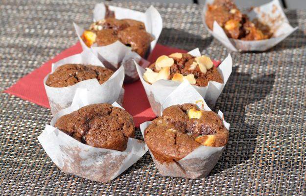 Petits muffins au chocolat sans beurre ultra moelleux