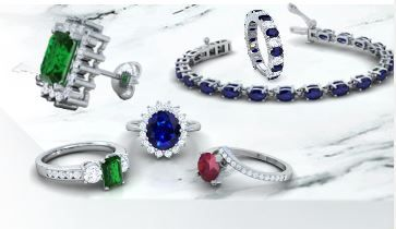 Buy Elegantly Designed Ruby Rings and Other Pieces from a Reputed Online Jewelry Store