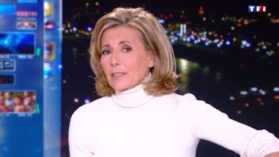 2013 02 03 - CLAIRE CHAZAL - TF1 - LE 20H @20H00