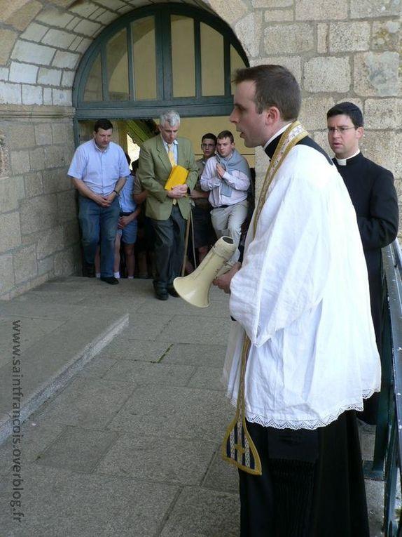 Pèlerinage de la chapelle Saint François à Sainte Anne d'Auray le samedi 9 avril 2011.