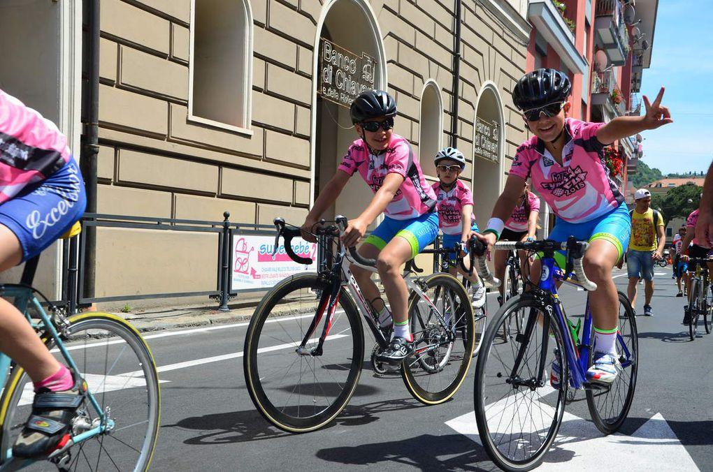 Reportage lors de 5 étapes du tour d'Italie 2015