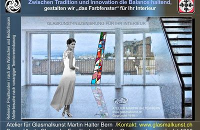 Glaskunst-Ambiente Atelier Martin Halter Bern