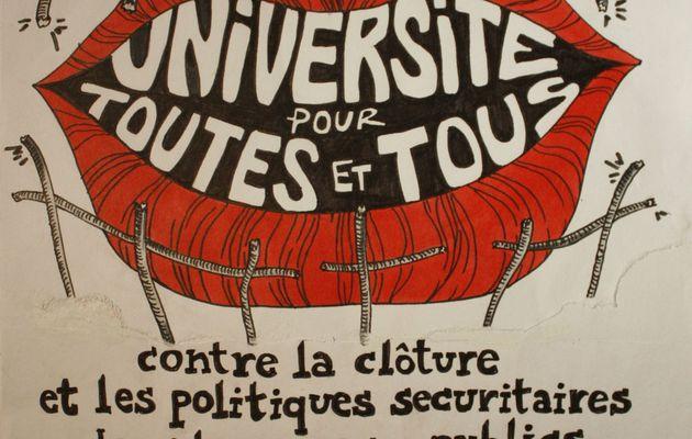 Université et Éduca#2;tion pour toutes et tous. Mobilisa#2;tion samedi 14 autour de l'université Paris 8 de Saint-Denis