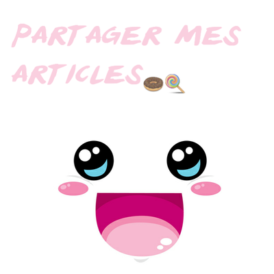 partager mes articles