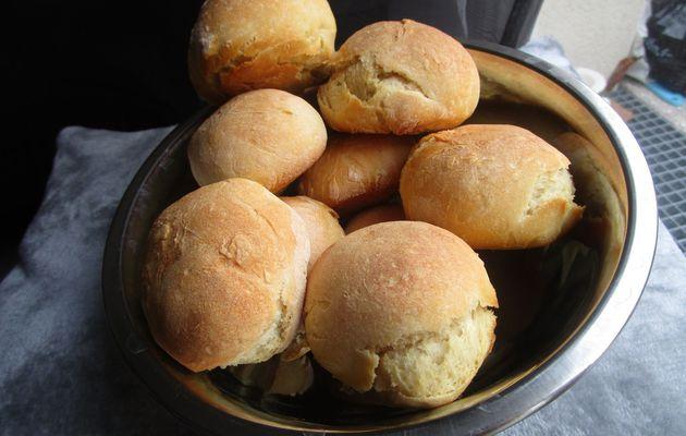 Petits pains fait maison sans machine à pain