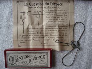 la question du divorce, la question du Transvaali