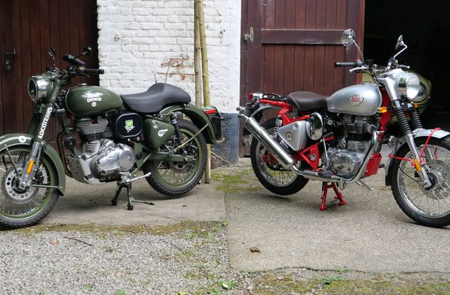 "Royal Enfield ""Bullet"" trial"