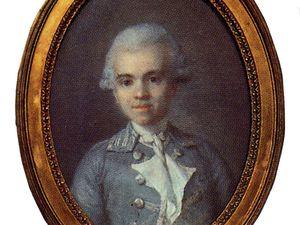 La marquis Anisson Dupéron, seigneur de Ris ; Le curé Pierre Galopin Delamazure ©dessins Jacqueline Clavreul