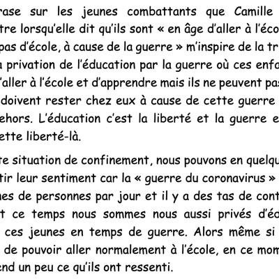 Camille Lepage, journaliste de guerre : textes reçus