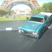 CHEVROLET EL CAMINO 1967 BABY BLUE PRO TOURING MAISTO 164 - car-collector.net