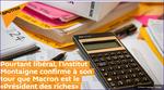 Pourtant libéral, l'Institut Montaigne confirme à son tour que Macron est le «Président des riches»