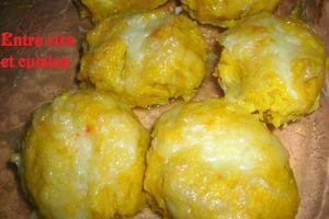 Boulettes de potimarron farcies à la mozzarella - Et Tag !