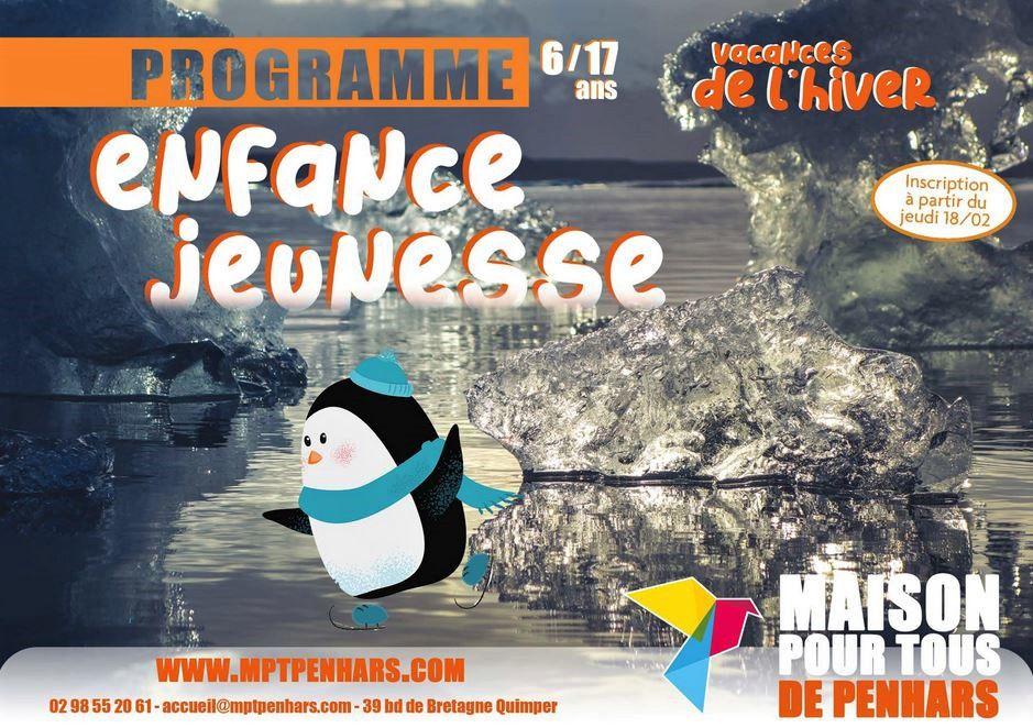 Le programme des vacances à la MPT de Penhars