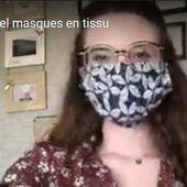 COVID-19 : Fabrication de MASQUES GRAND PUBLIC - Appel au volontariat sur Orléans Métropole - VIVRE AUTREMENT VOS LOISIRS avec Clodelle