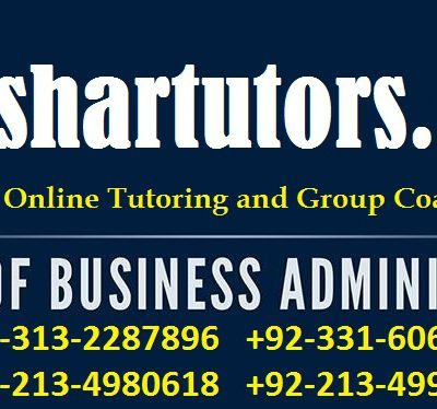 MBA Accounting Home Tutor and Private Tuition Teacher in Karachi 0313-2287896