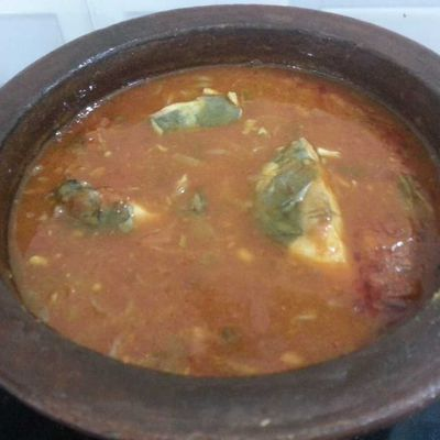 Special Pomfret Fish Curry