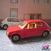 PEUGEOT 205 GTI SOLIDO 1/43 MADE IN FRANCE - car-collector