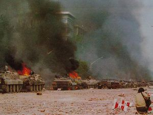 CLIQUEZ SUR L'IMAGE POUR LA VISUALISER. Des militaires ont été attaqués par des éléments contre-révolutionnaires qui ont agit à la faveur des manifestations...
