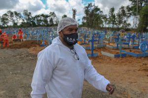 Le Brésil notifie plus de 1200 morts pour la troisième journée consécutive
