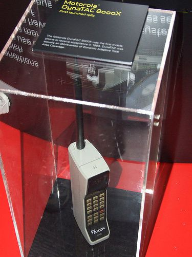 Collection telephones mobiles MOTOROLA DynaTac 8000X par Mobilophiles