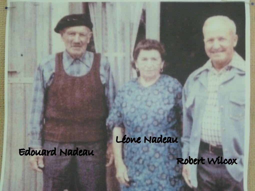 C'était Taylor Damery. En photo la famille Nadeau. Mais retournons sur nos routes de Saintes aux abords du lycée agricole.... Travaux annoncés par la mairie....