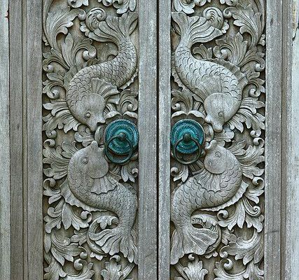 Intricate Carving by