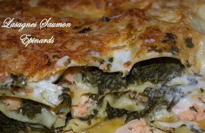 Lasagnes Saumon Epinards