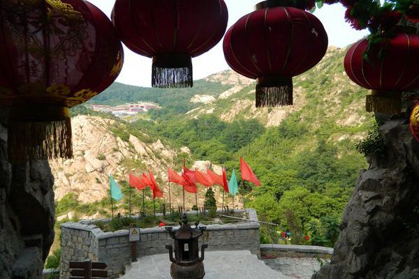 Huangdao 黄岛: Zhushan national forest park