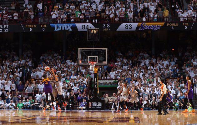 Sans Maïmouna Diarra, Los Angeles se fait peur mais gagne le premier match des finales WNBA