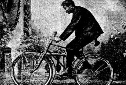 Henri Coullibeuf, champion cycliste d'un autre siècle, de passage à Moulins