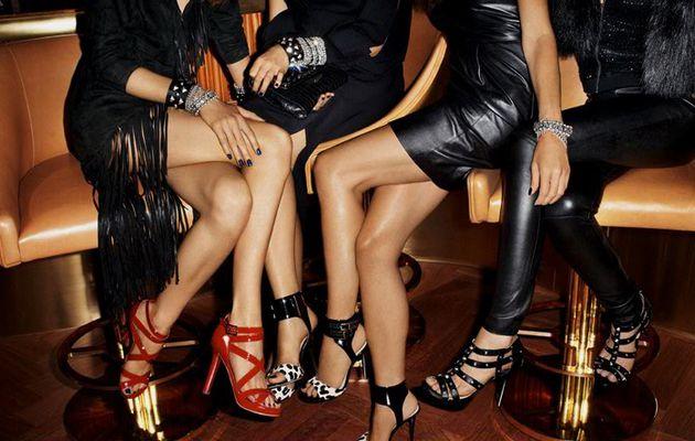 Les filles chez H&M, le 14 Novembre ... Jimmy Choo