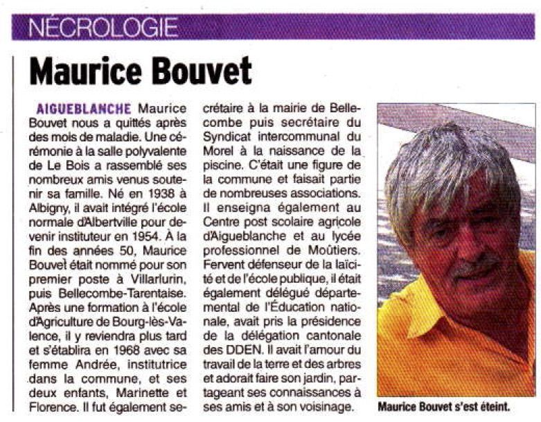 Maurice Bouvet