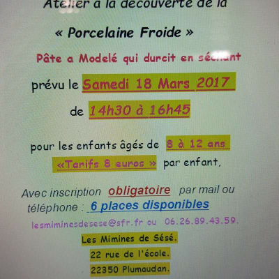Atelier samedi 18 mars 2017.