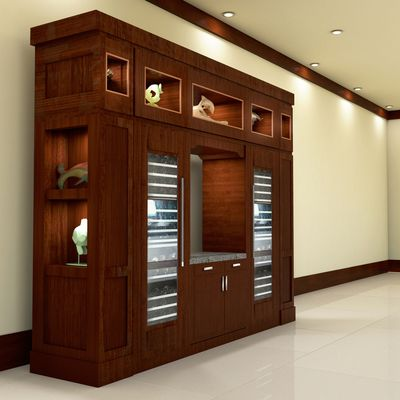 Architectural 3D Rendering Services Case Study Project for for a Wine Cabinet Interior Design Seattle Washington