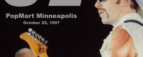 U2 -PopMart Tour -29/10/1997 -Minneapolis -USA -Hubert H. Humphrey Metrodome