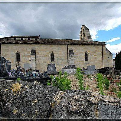 Eglise fortifiée de SAINT QUENTIN de BARON