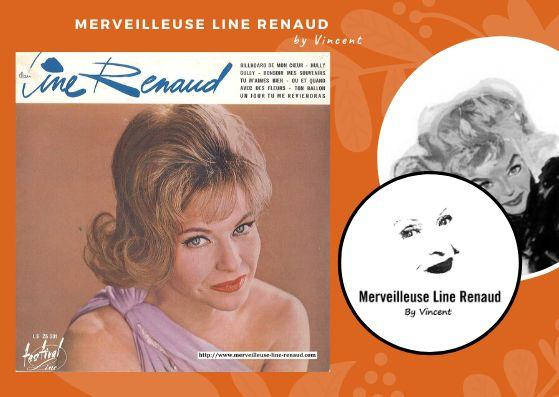 33 TOURS: 1963 Festival Line - LS 25001- Line Renaud