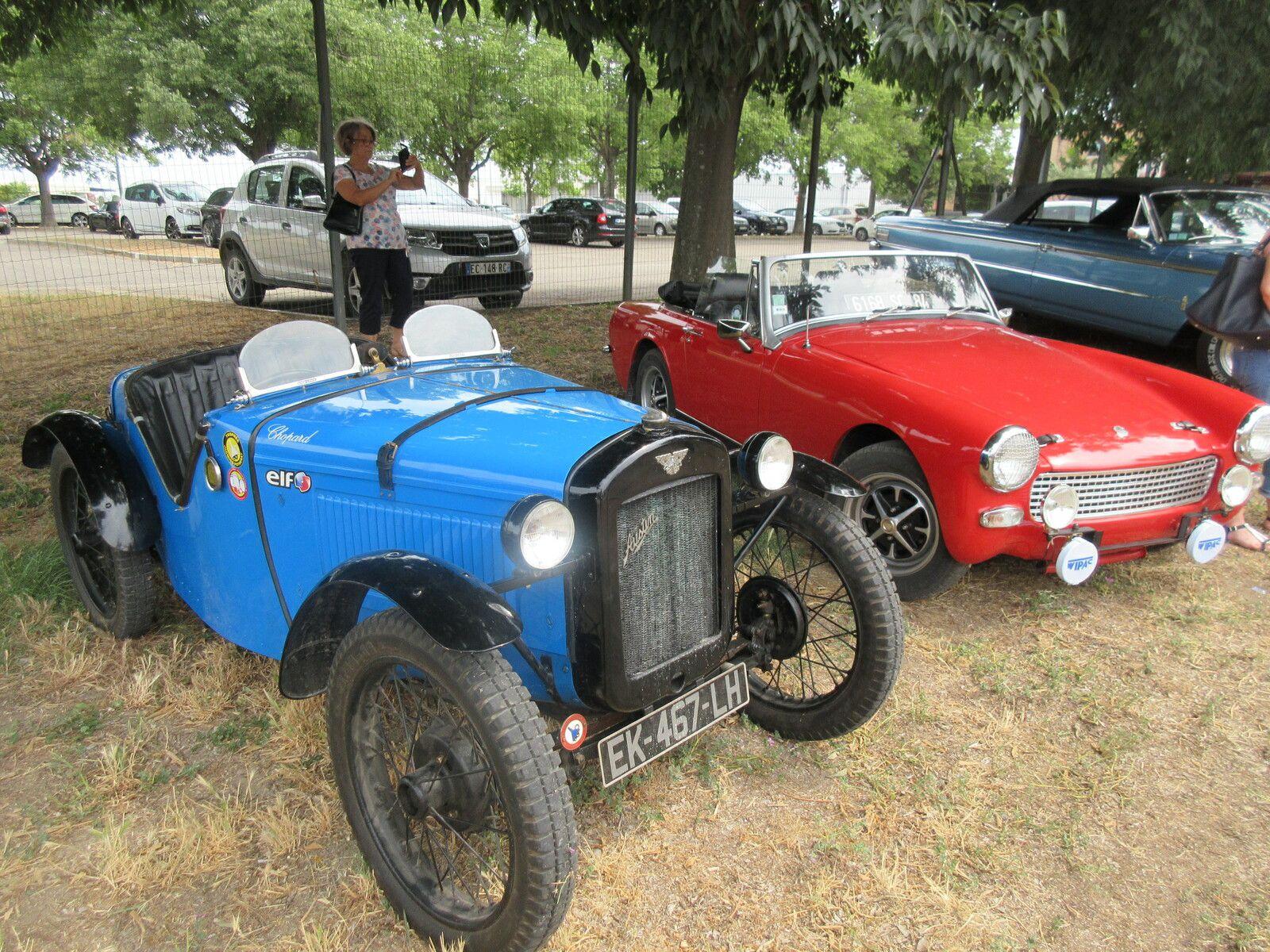 CALAMINE DAYS - Rassemblement Auto –Moto - Dimanche 27 juin - Aéroport d'Avignon
