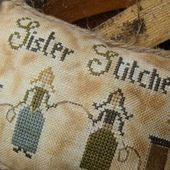 New Freebie: Sister Stitcher