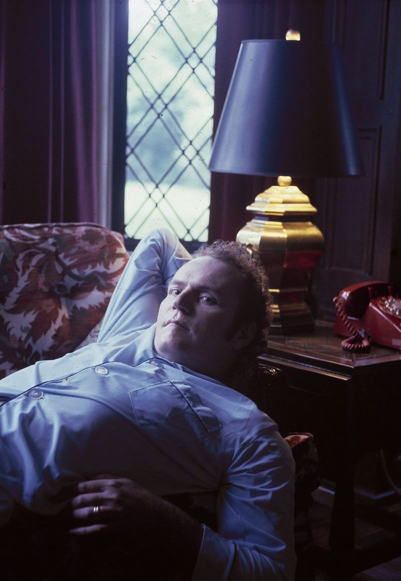 Mr. Flynt at his home in Ohio in 1978. That year he was shot near a courthouse by a sniper while he was on trial on an obscenity charge.Credit...Associated Press