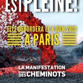 MANIFESTATION nationale des CHEMINOTS actifs et retraités : mardi 4 juin 2019 à Paris - Commun COMMUNE [le blog d'El Diablo]