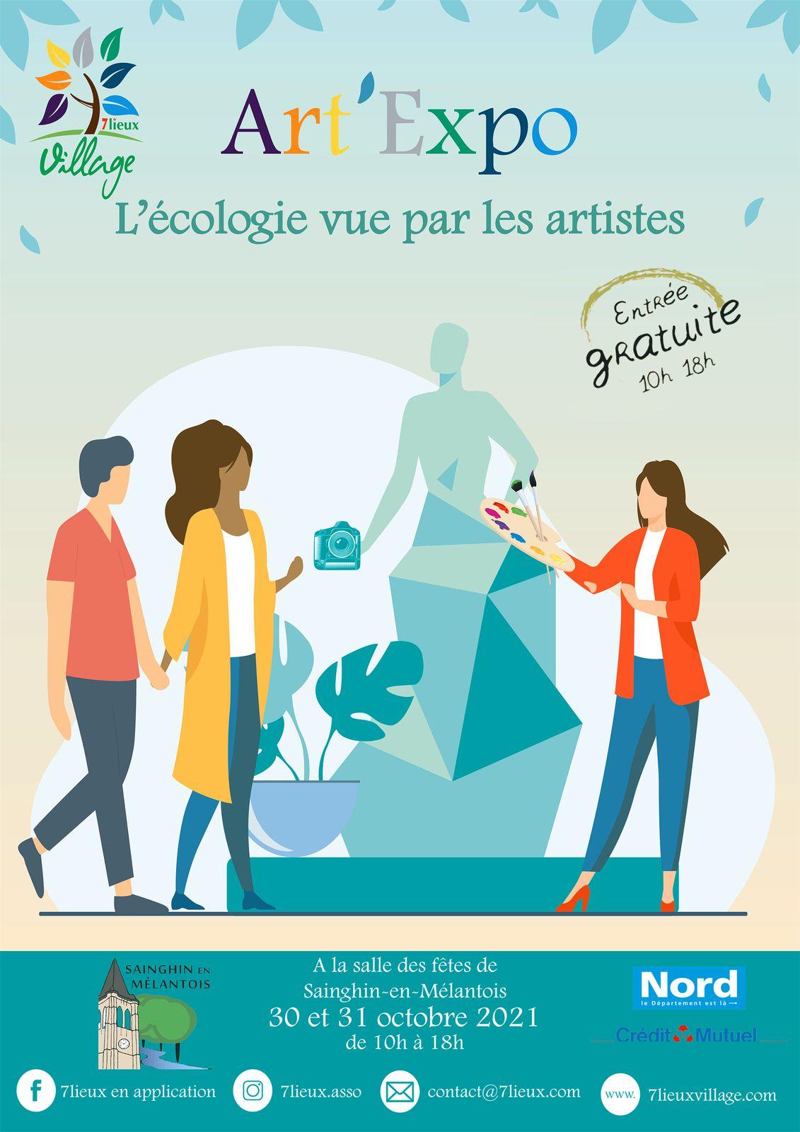 Report d' « Art'Expo 2021 » à octobre 2021