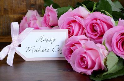 Happy Mother's Day - Bouquet - Fleurs - Roses - Wallpaper - Free