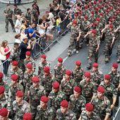 Le régiment dans sa ville