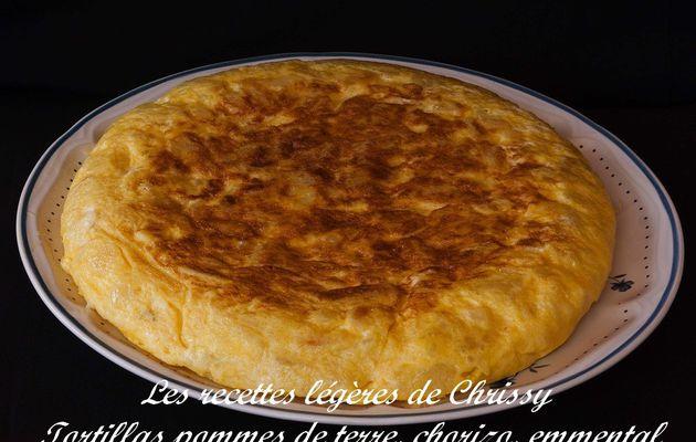 Tortillas pommes de terre et chorizo
