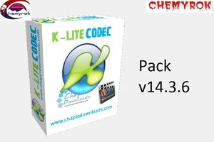 K-Lite Codec Pack v14.3.6,( Codecs de Audio & Video)
