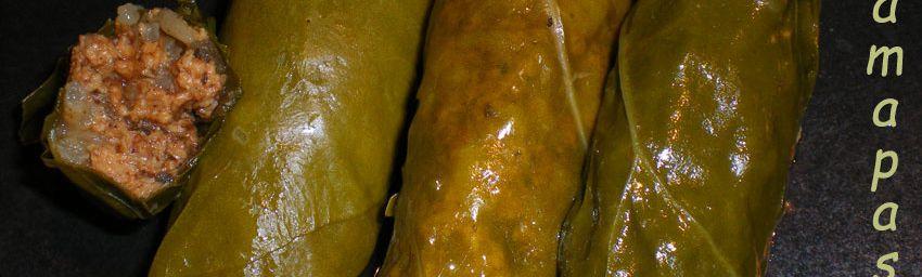 Feuilles de bettes farçies végétales