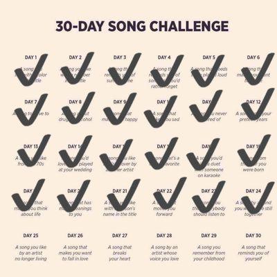 DEFI 30 jours de chansons francophones - Jour 25