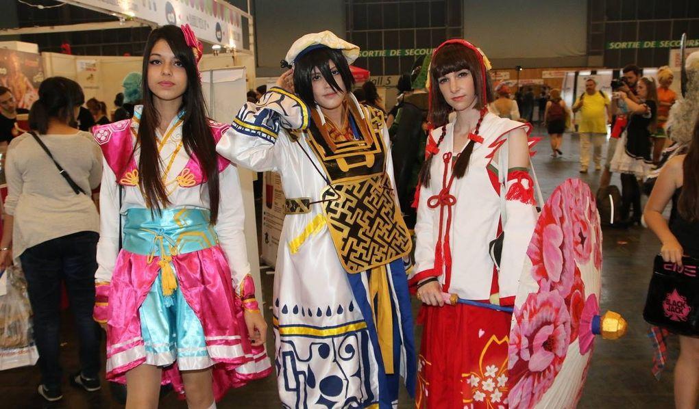 Cosplay Japan Expo 2014 vendredi